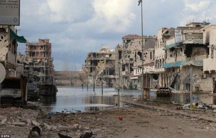 Sirte Libya devastation